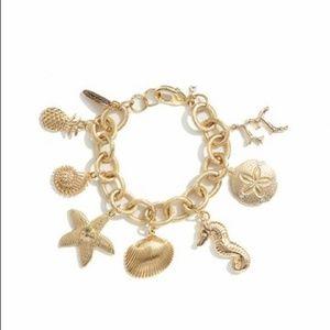 Lilly Pulitzer Gold Charm Bracelet